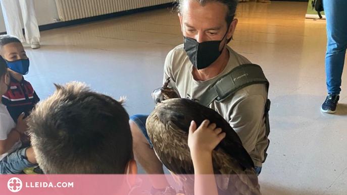 Infants d'Aitona descobreixen prop d'una quinzena d'animals