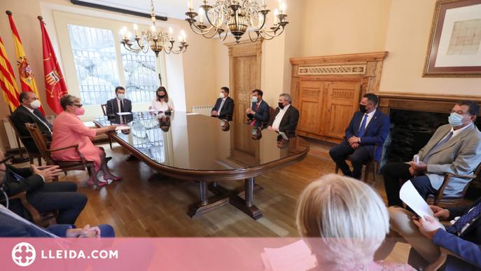 ⏯️ Aragonès es compromet a desplegar la Llei d'Aran