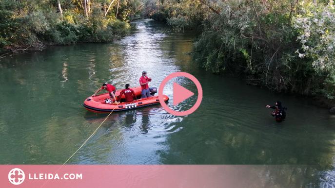 ⏯️ Troben mort un noi que s'ha ofegat al riu Segre
