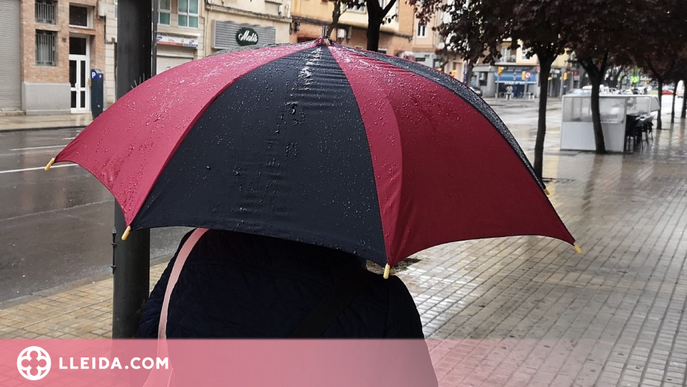 Activen l'alerta del pla Inuncat per la previsió de pluges intenses a la meitat oest de Catalunya