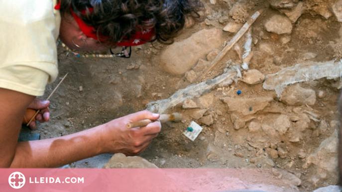 ⏯️ Troben una homo sapiens de 14.000 anys d'antiguitat a la Noguera
