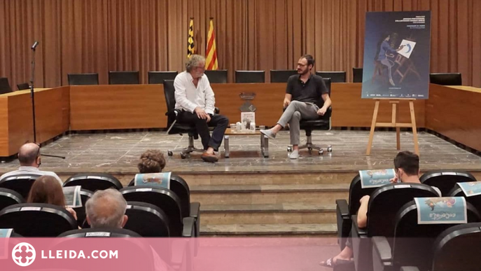 """Lara Costafreda, Oriol Malet i John Carlin """"dibuixen el canvi"""" a Balaguer"""
