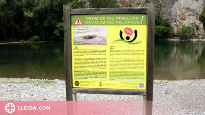 ⏯️ Camarasa enceta la temporada de bany amb més prevenció per evitar ofegaments