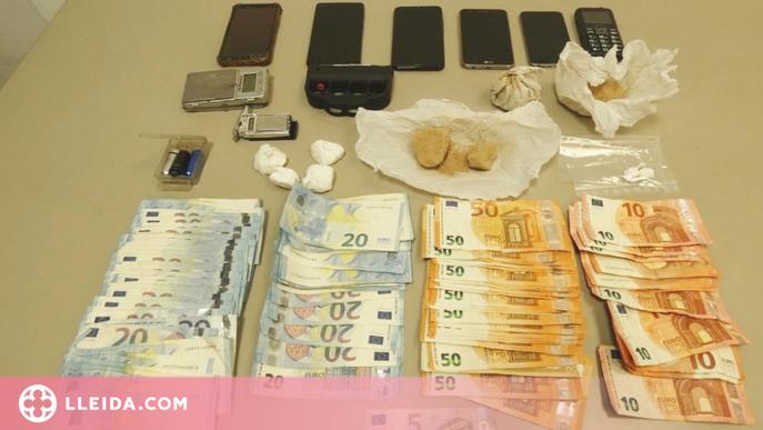 Detenen una parella de Vielha per tràfic de drogues
