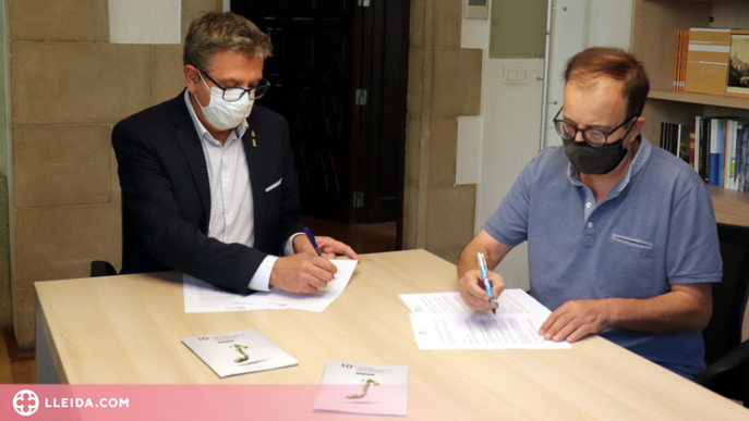 L'IEI aportarà 120.000 euros en tres anys al Festival de Música Antiga dels Pirineus
