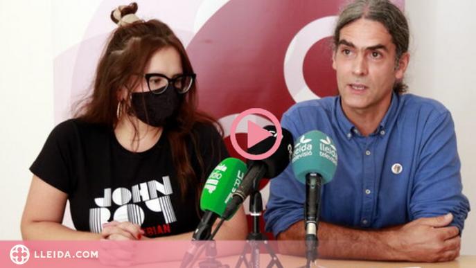 """⏯️ El Comú de Lleida es compromet a """"garantir la governabilitat de la ciutat"""" des de l'oposició"""
