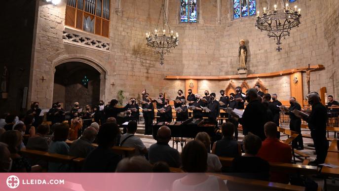 """El Cor de l'Auditori Enric Granados porta el recital """"In Memoriam"""" a Balaguer"""