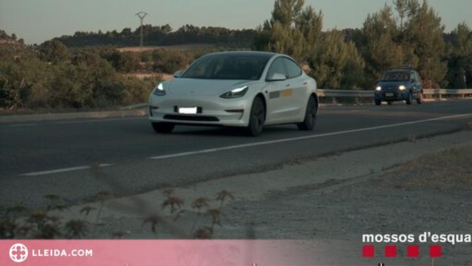 Enxampat un conductor andorrà que circulava a 187 km/h a l'Urgell