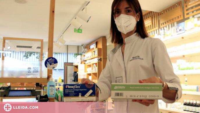 """⏯️ Les farmàcies preveuen una demanda """"alta"""" de tests a partir d'aquest dijous"""