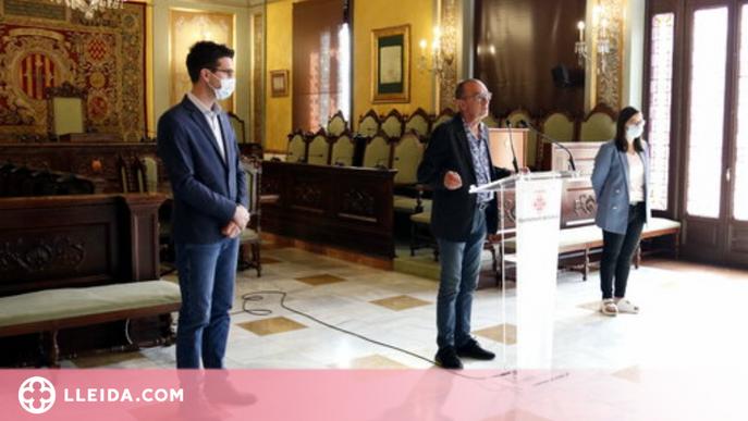 ⏯️ La Paeria crea una nova regidoria i redueix tinences d'alcaldia després de la sortida del Comú