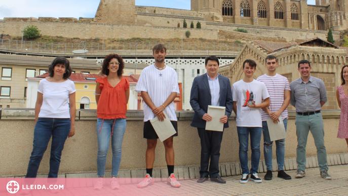 Alumnes del Torre Vicens, premi Construeix-T 2021