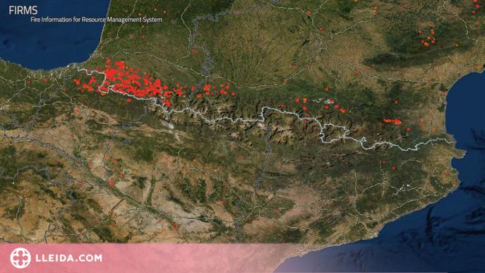 L'escalfament global dispararà els grans incendis al Pirineu