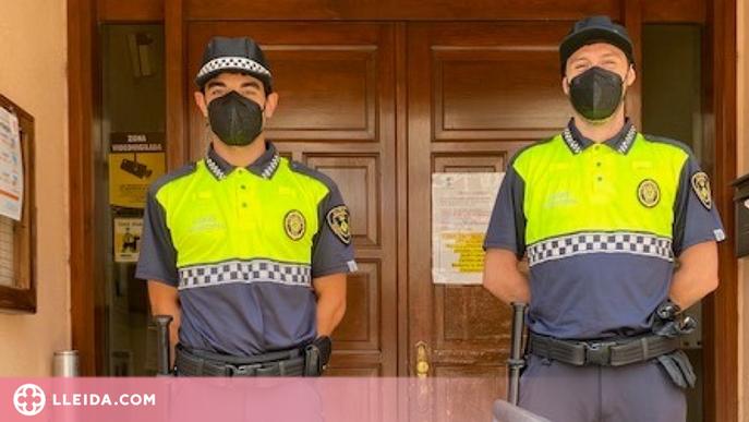 Alpicat reforça la vigilància municipal amb dos nous funcionaris