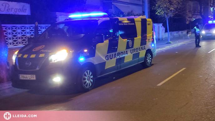 Trenca l'ordre d'allunyament de l'exparella, agredeix un urbà i danya un cotxe patrulla a Lleida