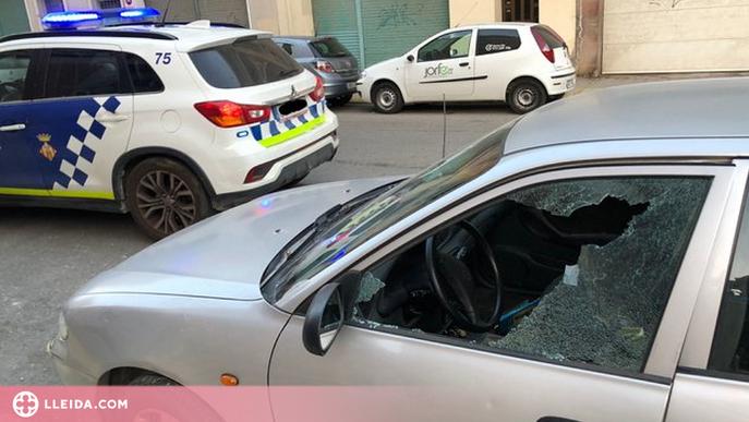 Detinguts quatre menors per robar en diversos vehicles a Lleida