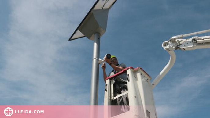⏯️ La Paeria instal·la les primeres càmeres a l'Horta per combatre robatoris