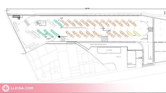 La nova estació d'autobusos de Lleida entrarà en funcionament el 2024