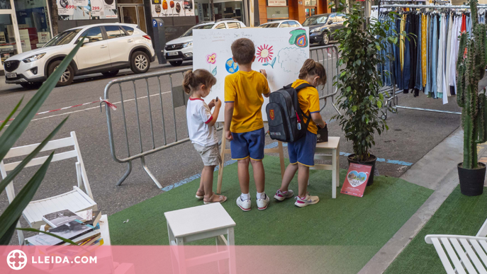 El Parking Day dona inici a la Setmana Europea de la Mobilitat a Lleida