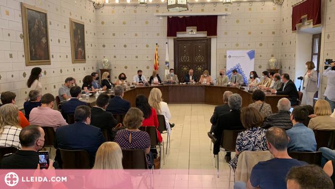 ⏯️ Francesc Viaplana agafa el relleu de Jordi Fàbrega a l'alcaldia de la Seu