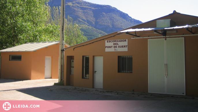 Inversió de més de 16.000 euros per millorar l'Escorxador de l'Alta Ribagorça