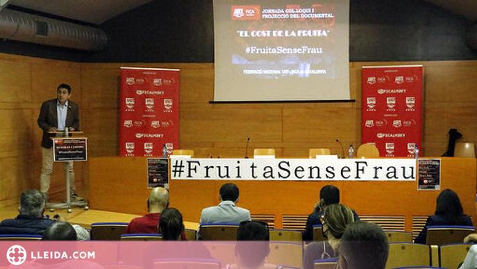 Denuncien 9 empreses lleidatanes per irregularitats contra els treballadors de la fruita