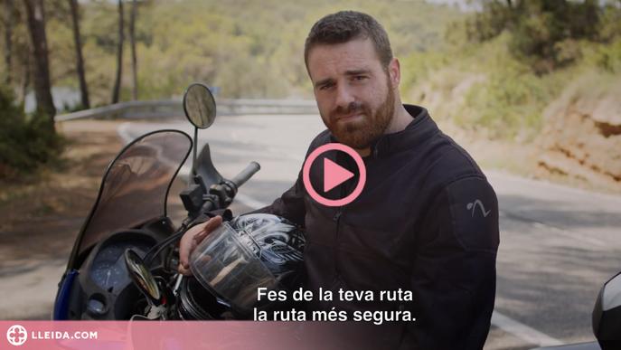 ⏯️ Nova campanya de Trànsit per prevenir accidents de motoristes