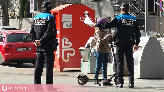 La Urbana de Lleida vol més regulació sobre els patinets després del primer atropellament mortal