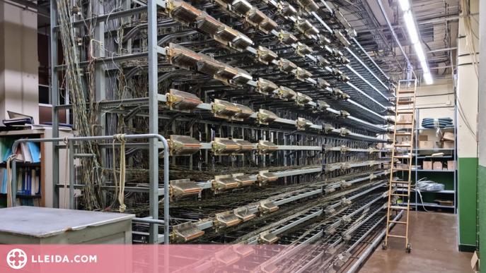 Telefónica tanca una seixantena de centrals de coure a Catalunya