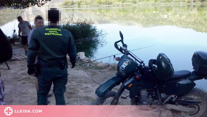 Més de 370 denúncies de pesca en els darrers dos anys a Lleida