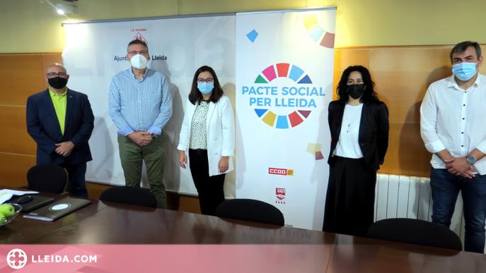 En marxa la nova web del Pacte Social per Lleida