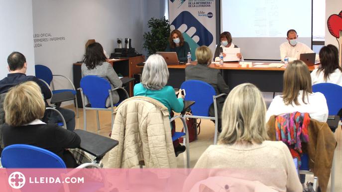 El lideratge infermer en la vacunació i la pandèmia, eixos de l'Assemblea General d'Infermeres de Lleida