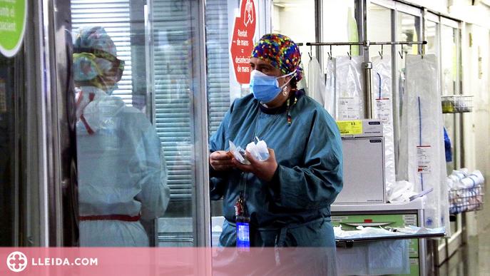 La presència del SARS-CoV-2 és més alta als passadissos dels hospitals