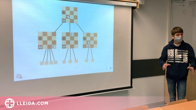 ⏯️ Un jove de la Seu crea un algorisme amb intel·ligència artificial per jugar a escacs amb l'ordinador