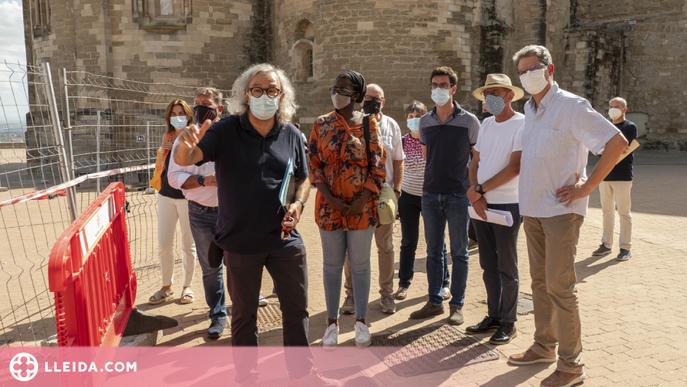 La Seu Vella recupera visitants després de l'impacte de la pandèmia