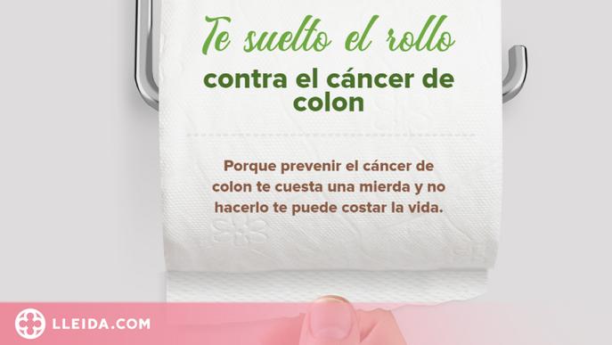 ⏯️ L'AECC Lleida surt al carrer pel Dia Mundial Contra el Càncer de Còlon