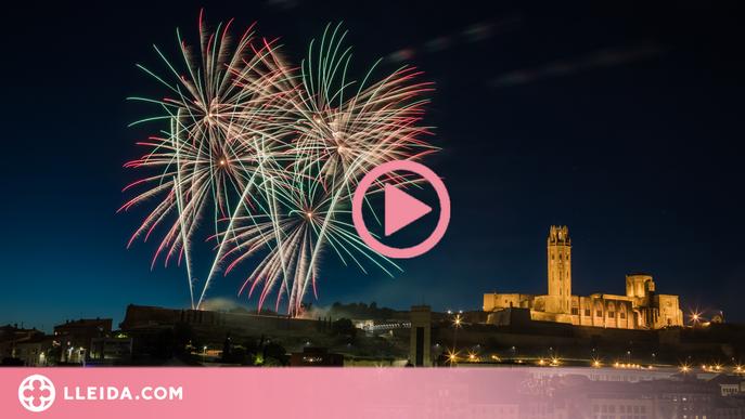 ⏯️ Lleida clou la Festa Major amb el tradicional Castell de Focs