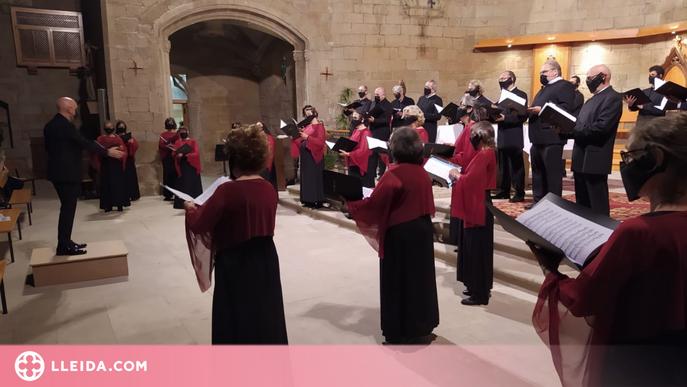 """Les """"Essències"""" del Cor Lieder Càmera ressonen a Balaguer"""