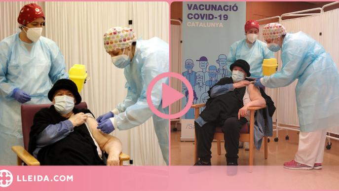 ⏯️ Una de les infermeres que va vacunar contra la covid-19 a Lleida dona positiu per coronavirus