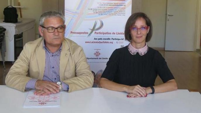 Roda de premsa de valoració del procés participatiu / Ajuntament de Lleida