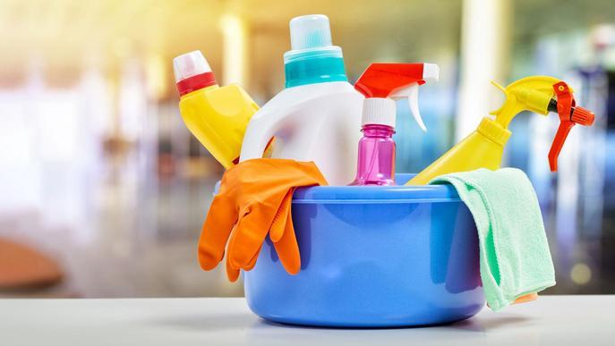 Neteja i desinfecció de la llar