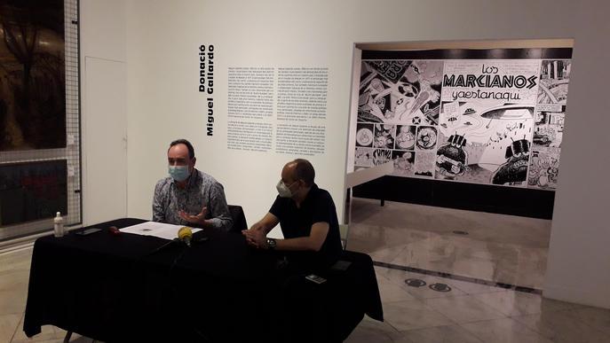 Miguel Gallardo dona una part de la seva obra al Museu d'Art Jaume Morera
