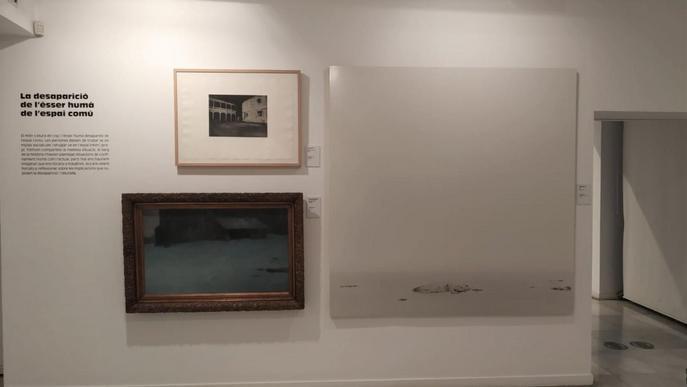 """El Museu d'Art Jaume Morera reflexiona sobre el confinament amb l'exposició """"Reclòs –osa"""""""