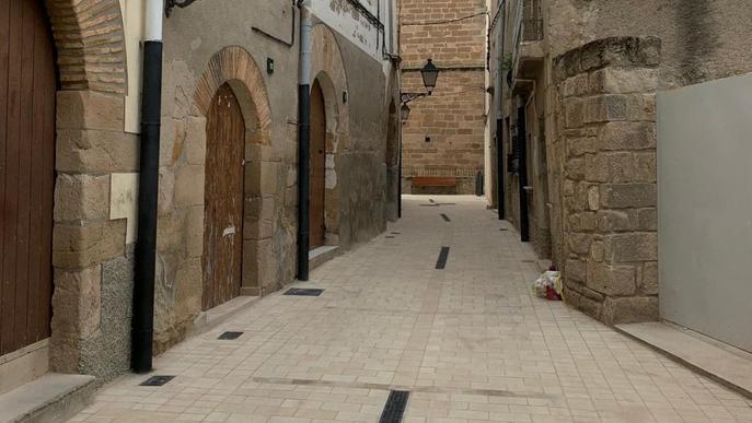 La Vileta d'Artesa de Lleida es troba al centre de la població, i configura el nucli antic de la vila. Les antigues porxades que tancaven la vila closa, juntament amb les arcades de pedra que les sustentaven, van ser enderrocades durant el segle passat. L