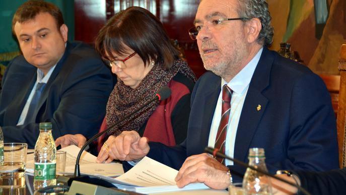 Joan Reñé deixa de ser president de la Diputació de Lleida