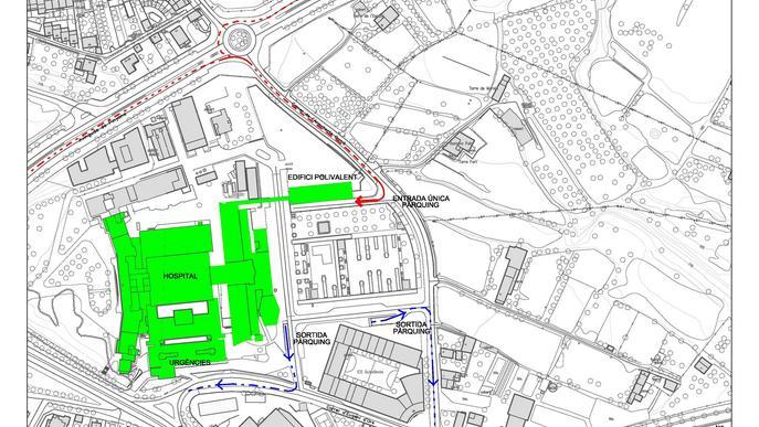 L'Arnau de Vilanova recuperarà l'accés principal al pàrquing aquest diumenge