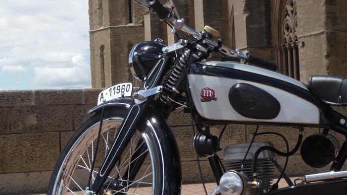 Motos pioneres a Lleidantic