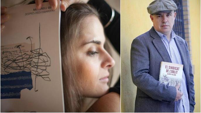 Debut poètic de Meritxell Gené i la nova aposta d'Albert Villaró, novetats per Sant Jordi