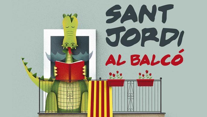 Balaguer celebra el seu Sant Jordi en confinament