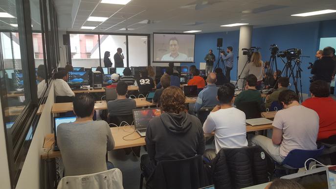 Comença el curs a Balaguer d'una empresa de Silicon Valley