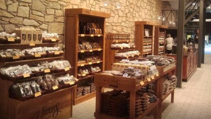 La casa de la xocolata, un espai per als gormands
